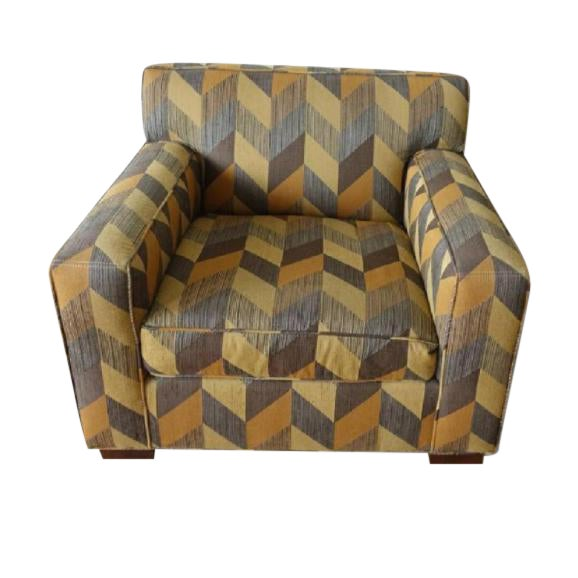 Mitchell Gold + Bob Williams Custom Arm Chair For Sale