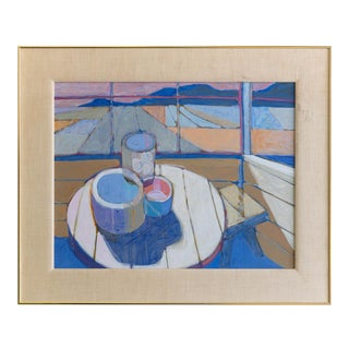 Kipp Stewart Oil on Canvas For Sale