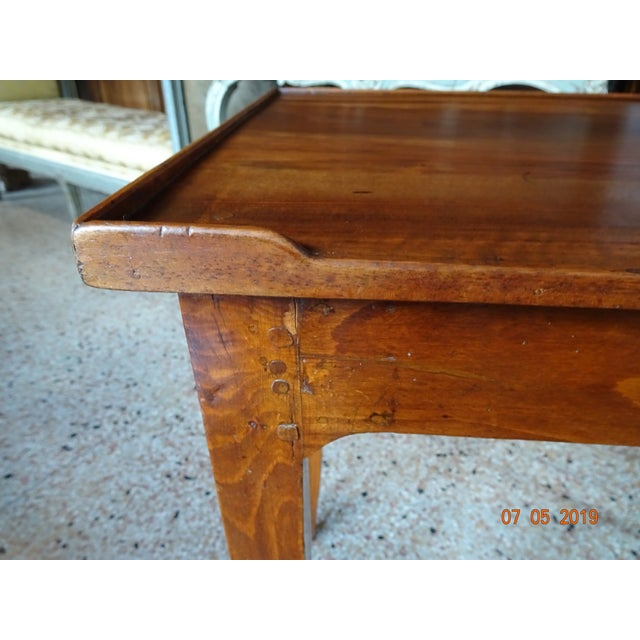 Wood 19th Century French Side Table For Sale - Image 7 of 12