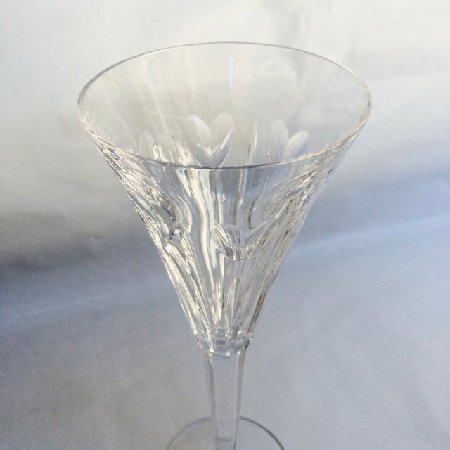 """Waterford Crystal """"Love"""" Champagne Flute - Image 3 of 3"""