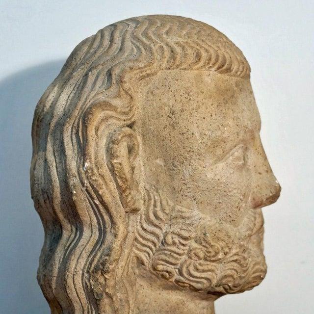 Medieval Limestone Bust - Image 9 of 10