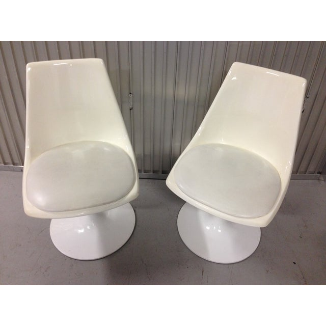 Mid-Century Modern Krueger Tulip Chairs - Pair For Sale - Image 7 of 8