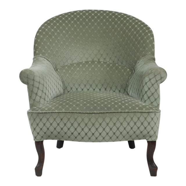Image of 1890s Victorian Ladies Slipper Chair