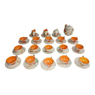 Italian Mid-Century Tea & Coffee Set - 38 Pieces For Sale