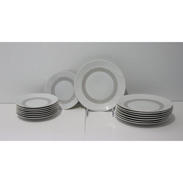 """Mid-Century Modern Rosenthal """"Athenia"""" Dinner Service for 8 Plus Serving Pieces - 63 Items Total For Sale - Image 9 of 13"""