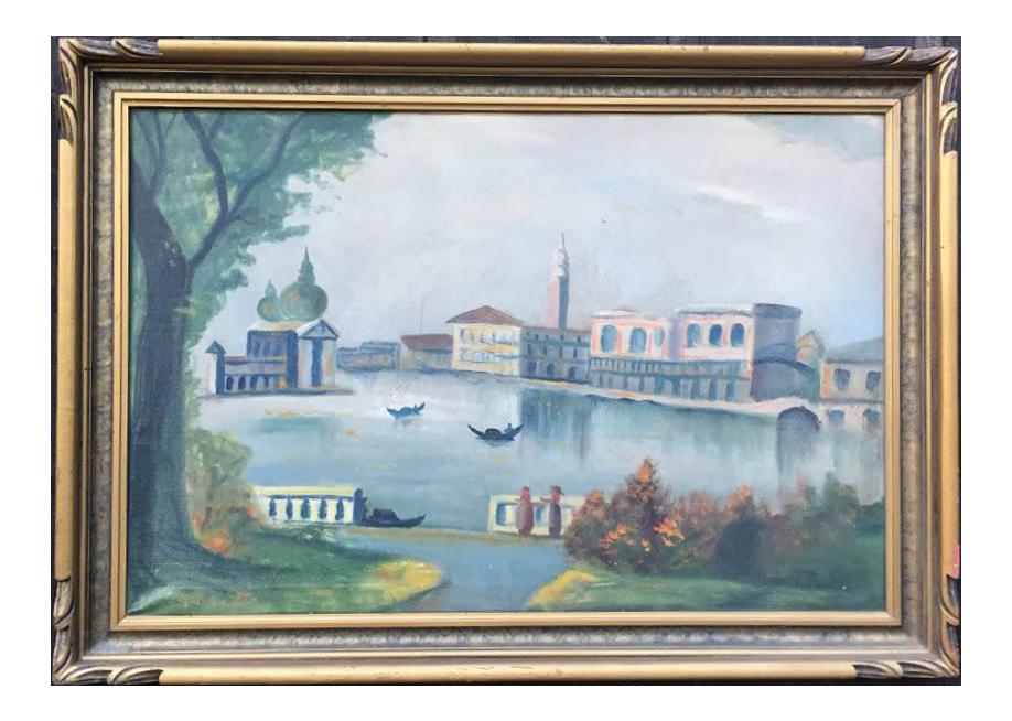 Vintage amp Used Paintings  Chairish