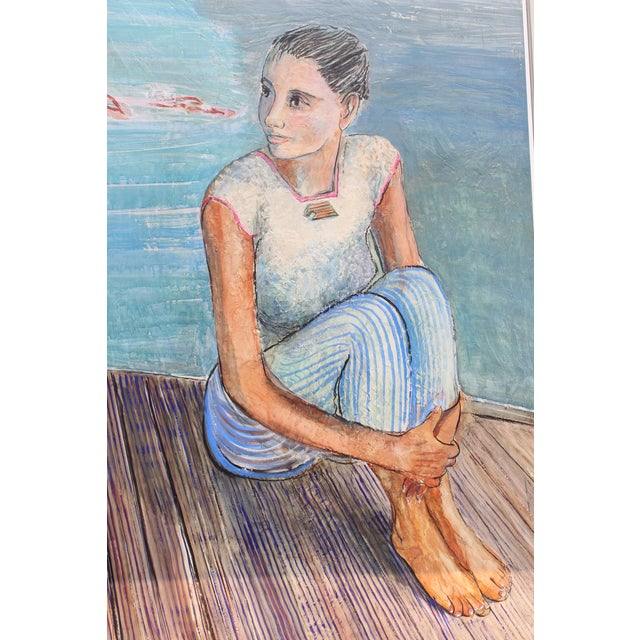 Persian Contemporary Painting by Artist Milano Khzanjian For Sale - Image 4 of 7