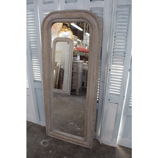 Giltwood 20th Century Vintage Louis Philippe Style Mirror For Sale - Image 7 of 7