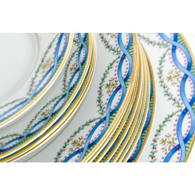 White Limoges Made for Tiffany Dinner Set - Set of 42 For Sale - Image 8 of 9