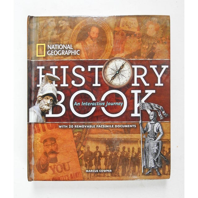 National Geographic History Book: An Interactive Journey For Sale - Image 13 of 13