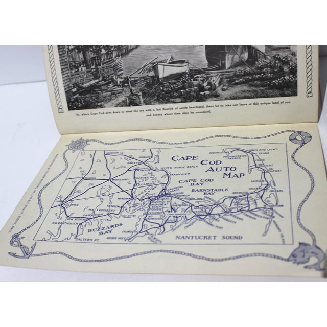 Mid-Century Book Buzzards Bay Quaint Cape Cod For Sale - Image 10 of 12