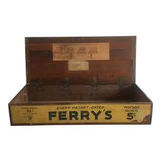 Ferry's Seed Box Display Box For Sale