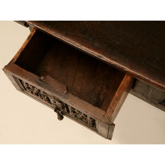 Spanish Console/Sofa Table with Three Deep Drawers For Sale - Image 10 of 10