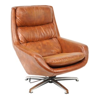 Vintage Mid Century Overman Lounge Chair For Sale