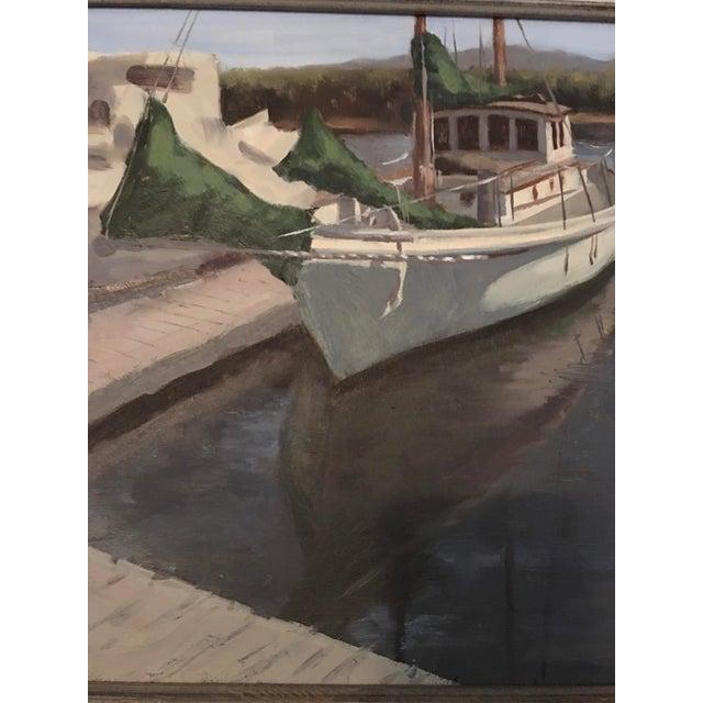 "Nathan Drushinin ""At Lovric's"" Painting - Image 4 of 4"