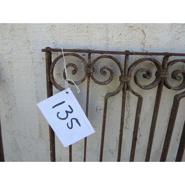 Antique Victorian Iron Gate - Image 5 of 6