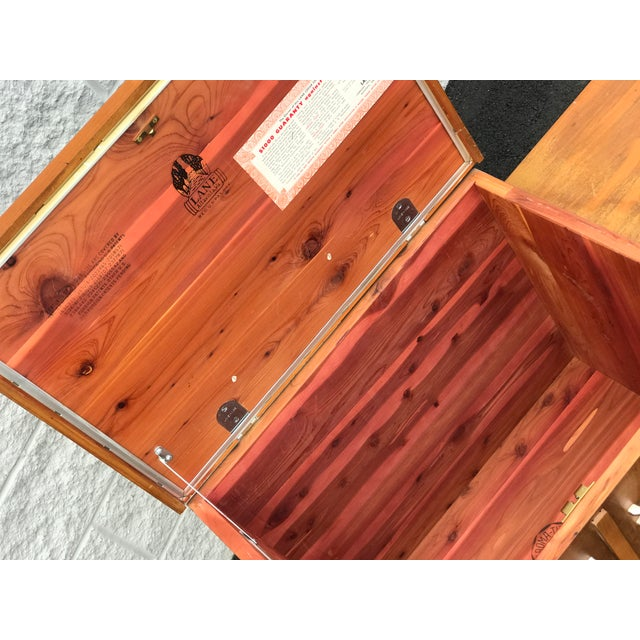1960s Mid Century Modern Lane Cedar Chest For Sale In Tampa - Image 6 of 9