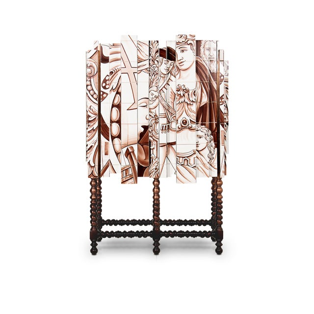 Metal D. Heritage Cabinet From Covet Paris For Sale - Image 7 of 7