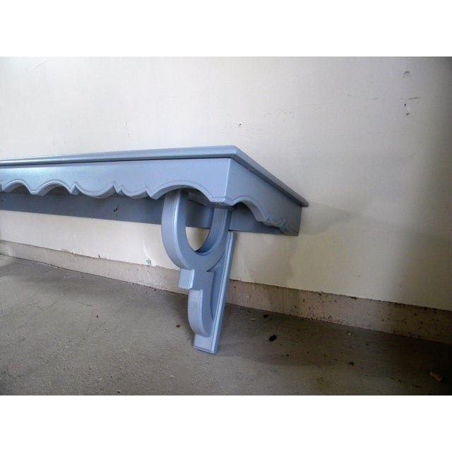 Vintage Painted Wall Console - Image 4 of 6
