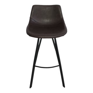 Alicia Brown Counter Chair For Sale