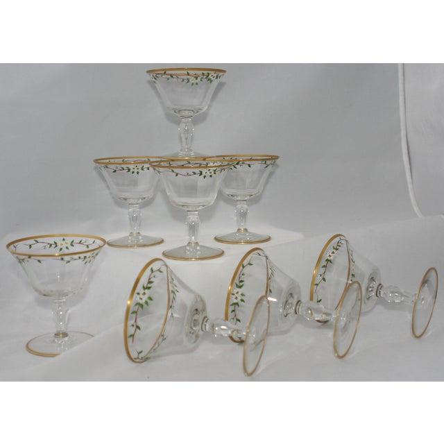 Vintage Footed Cocktail Glasses - Set of 8 - Image 3 of 5