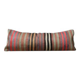 Serit Kilim Lumbar Pillow For Sale