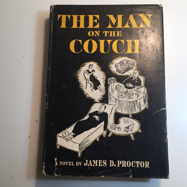 """Black """"The Man on the Couch"""" 1951 Book For Sale - Image 8 of 8"""