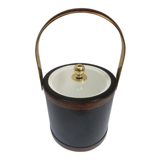 1960s Mid Century Morgan Bucket Brigade Retro Ice Bucket