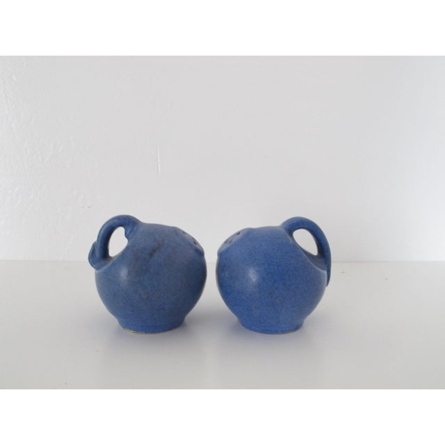 Blue Pottery Salt & Pepper Shakers - Pair - Image 2 of 7