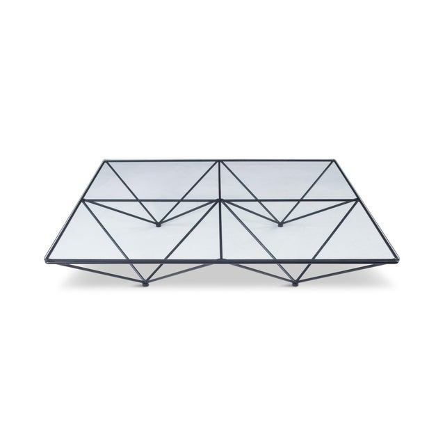 Alanda Square Coffee Table by Paolo Piva for B&b Italia For Sale - Image 10 of 11