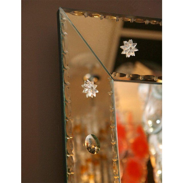 2000s Custom-Made Dot Mirror For Sale - Image 5 of 6