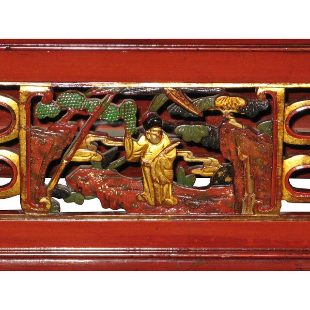 Red Fujian Altar Table For Sale - Image 4 of 7