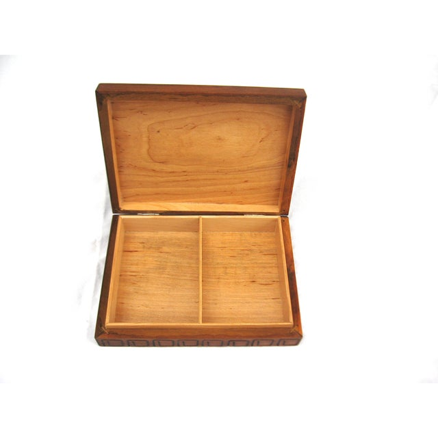 Hand Carved Trinket Box - Image 6 of 6
