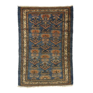 Antique Persian Nahavand Hamadan Accent Rug - 02'09 X 04'01 For Sale