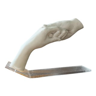 """John Cutrone """"Hands"""" Sculpture for Austin Productions For Sale"""