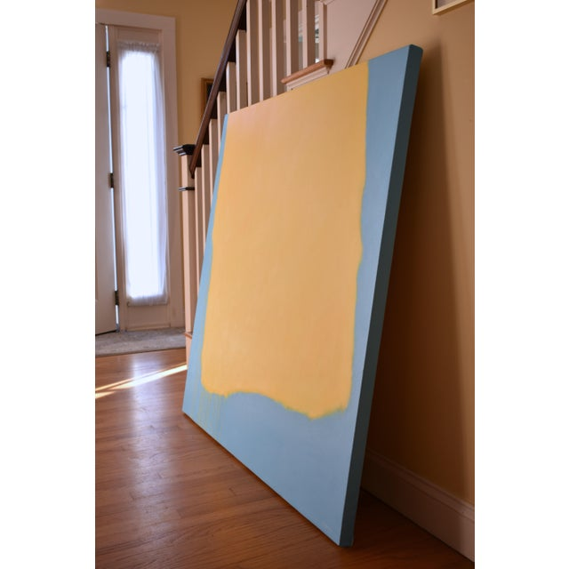 "Stephen Remick ""Crossing Borders"" Large Contemporary Abstract Painting For Sale In Providence - Image 6 of 10"