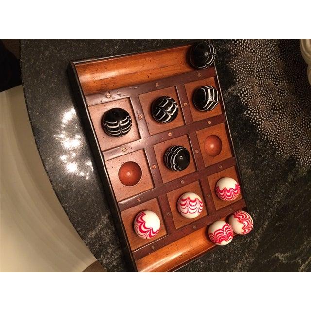 Authentic Model Venetian Tic Tac Toe Board - Image 4 of 6