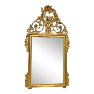 Carved Italian Mirror For Sale