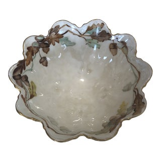 Limoges Autumnal China Candy Dish For Sale
