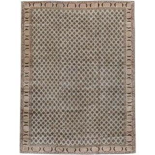 """Vintage Turkish Sivas Carpet - Size: 8' 4"""" X 11' 1"""" For Sale"""