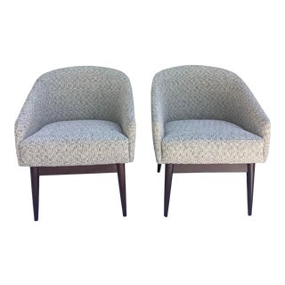 Mid-Century Modern Tub Chairs, a Pair For Sale