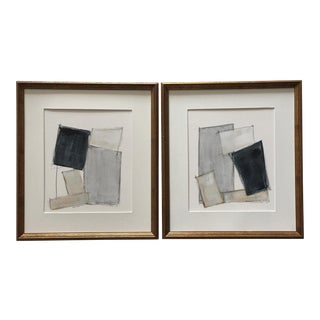 Abstract Geometric Paintings, Pair