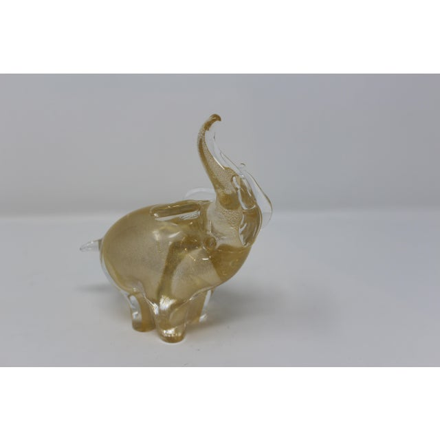 Contemporary Contemporary Murano Glass Elephant by Beltrami For Sale - Image 3 of 5