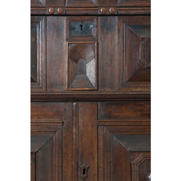 17th Century English 17th Century Charles II Oak Chest of Drawers For Sale - Image 5 of 13