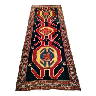 Caucasian Design Wide Runner For Sale