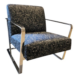 Contemporary Swaim Lounge Chair For Sale