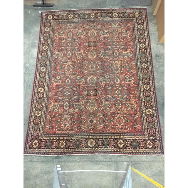 1930s Vintage Distressed Persian Meshkabad Rug - 10′4″ × 13′6″ For Sale - Image 13 of 13