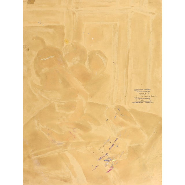 Virginia Sevier Rogers Vintage Still Life Painting - Image 6 of 6