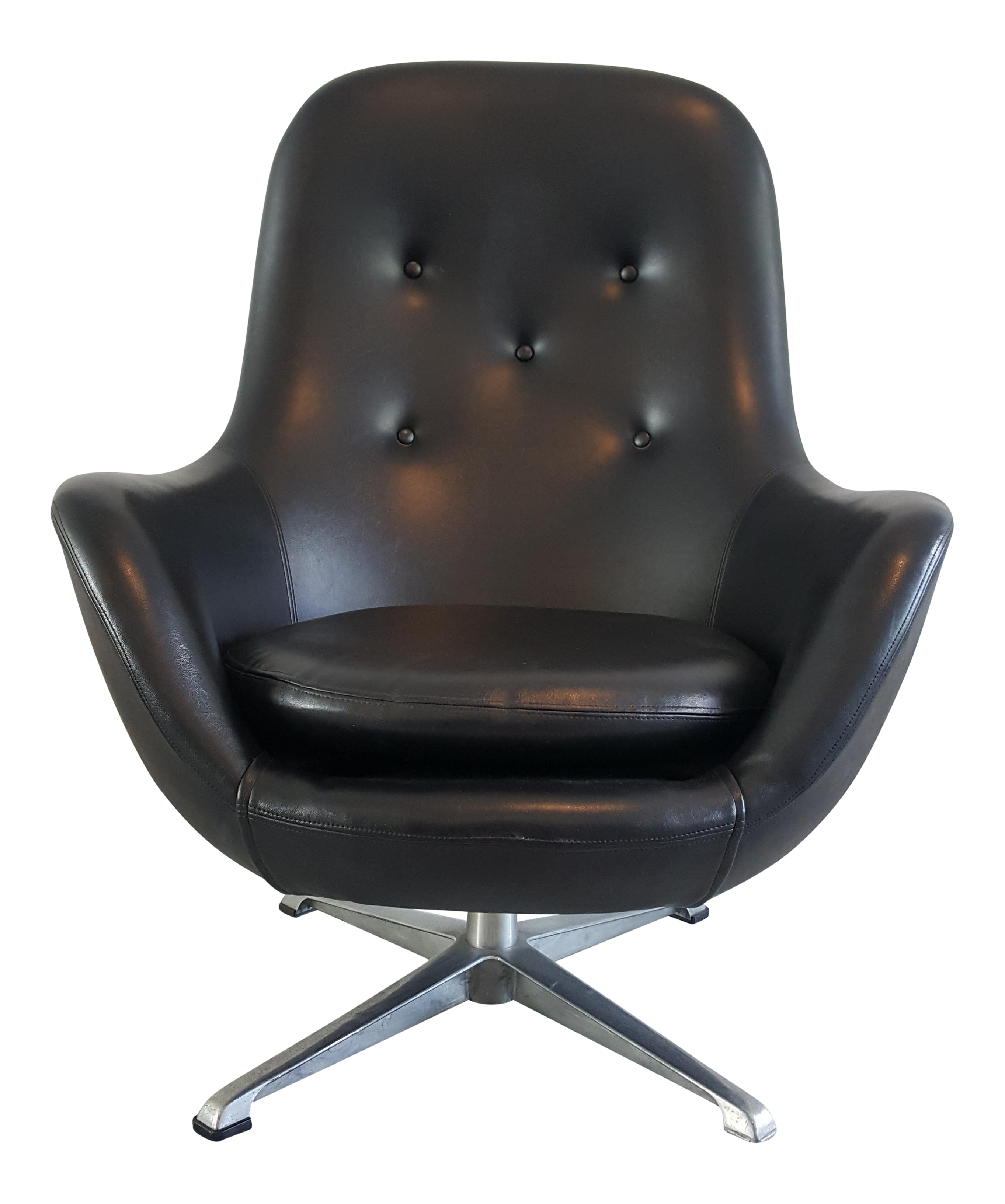 Exceptionnel Mid Century Modern Overman Ab Pod Chair   Image 1 Of 11