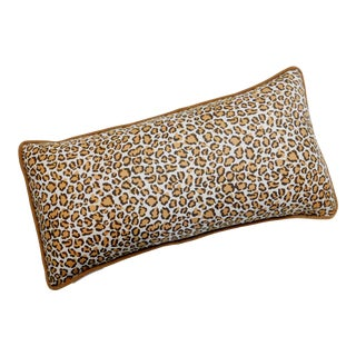 Cheetah Print Lumbar Pillow For Sale